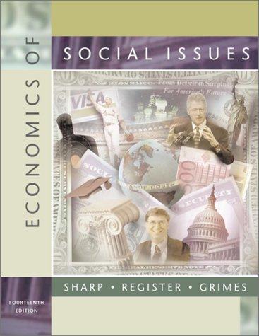 9780072315981: Economics of Social Issues