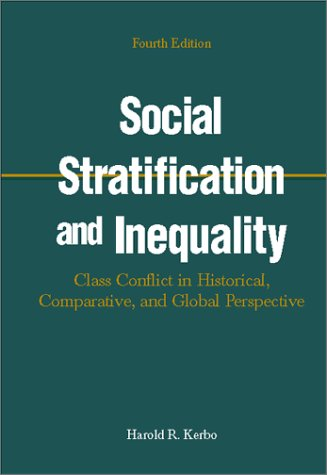 9780072316049: Social Stratification and Inequality