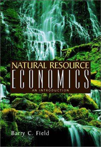 9780072316773: Natural Resource Economics