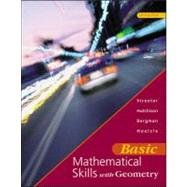 9780072316926: Basic Mathematical Skills with Geometry