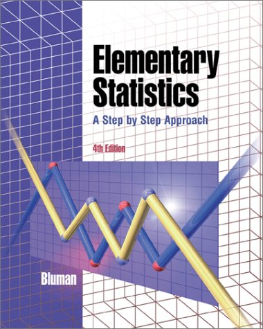 9780072316940: Elementary Statistics: A Step By Step Approach (4th Edition )