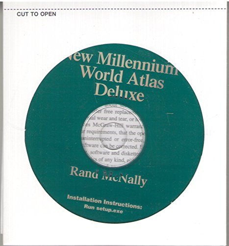 9780072317152: Rand-McNally New Millennium World Atlas CD-ROM