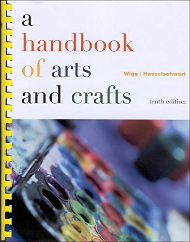 9780072317275: A Handbook of Arts and Crafts