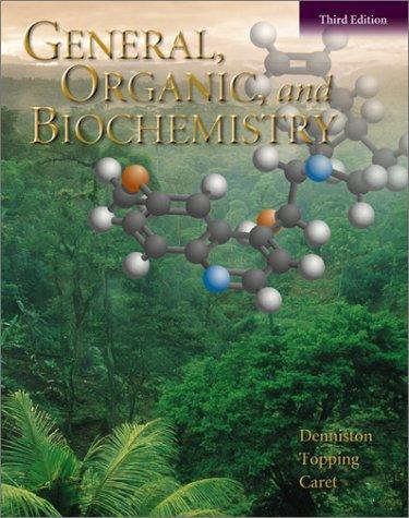 9780072317848: General, Organic, and Biochemistry, Third Edition