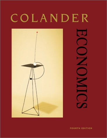 9780072317930: Economics, Fourth Edition