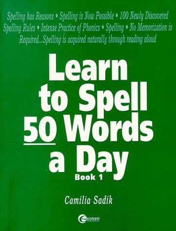 9780072317961: Learn to Spell 50 Words a Day