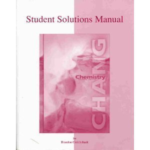 9780072318029: Chemistry (Student Solutions Manual, 7th Edition)