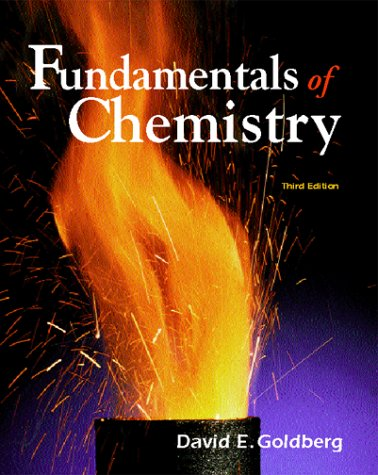 9780072318135: The Fundamentals of Chemistry