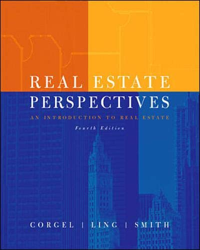 9780072318227: Real Estate Perspectives:  An Introduction to Real Estate