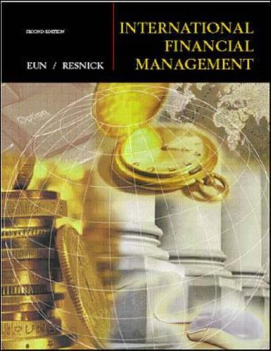9780072318258: International Financial Management (Irwin/McGraw-Hill Series in Finance, Insurance, and Real Est)