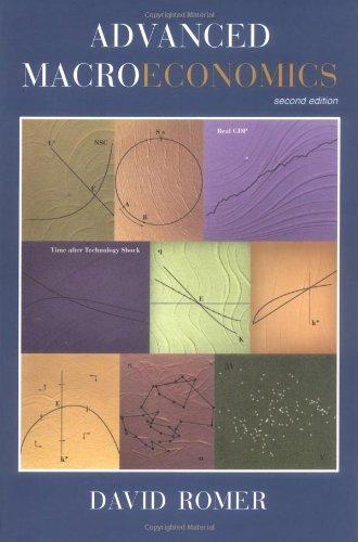 David Romer Advanced Macroeconomics Zvab