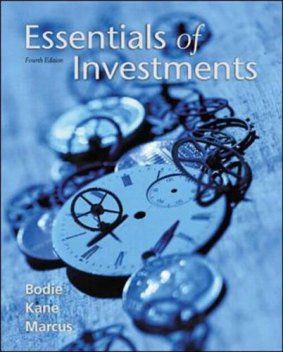9780072318593: Essentials of Investments (Mcgraw-Hill/Irwin Series in Finance, Insurance, and Real Estate)