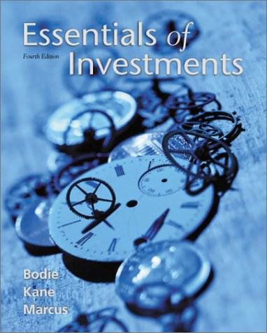 9780072318593: Essentials of Investments Fourth Edition