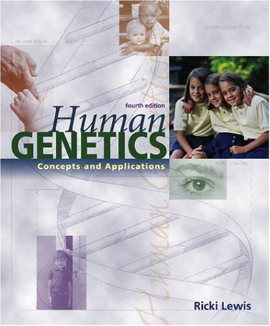 9780072318982: Human Genetics: Concepts and Applications