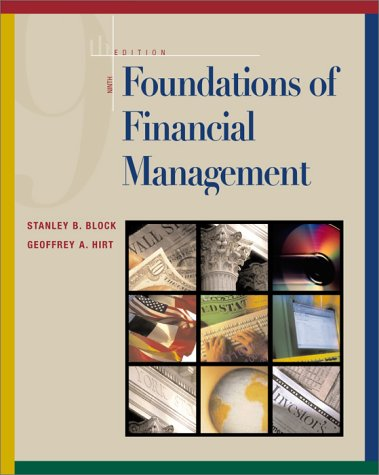 9780072319330: Foundations of Financial Management (The Irwin Series in Finance, Insurance, and Real Estate)