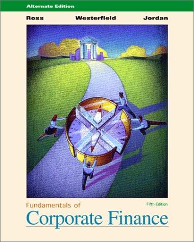 9780072319378: Fundamentals of Corporate Finance