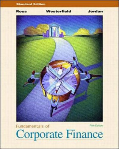 9780072319385: Fundamentals of Corporate Finance: Standard Edition (Irwin/McGraw-Hill series in finance, insurance, and real estate)
