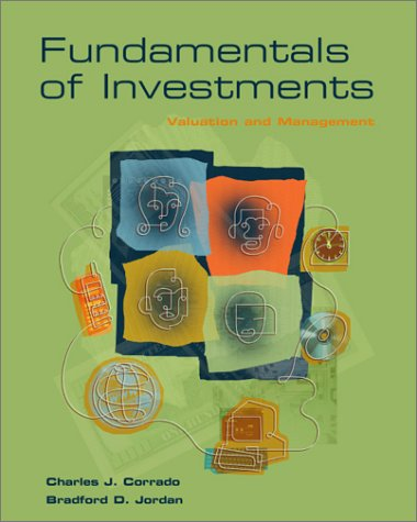 9780072319415: Fundamentals of Investments: Valuation and Management
