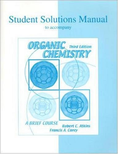 9780072319453: Student Solutions Manual to accompany Organic Chemistry