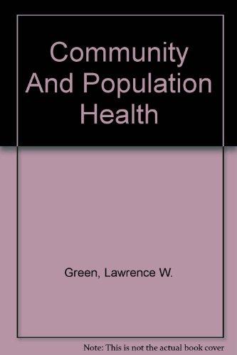 9780072319590: Community And Population Health