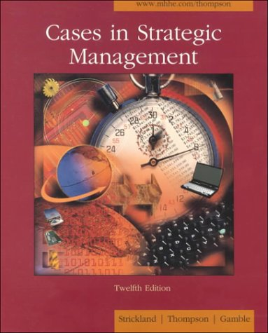 9780072319781: Cases in Strategic Management