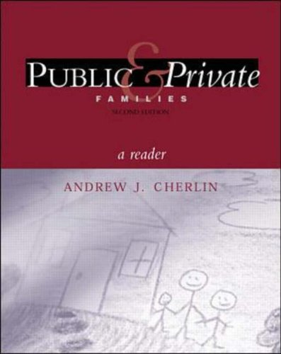 9780072319927: Public and Private Families: Reader