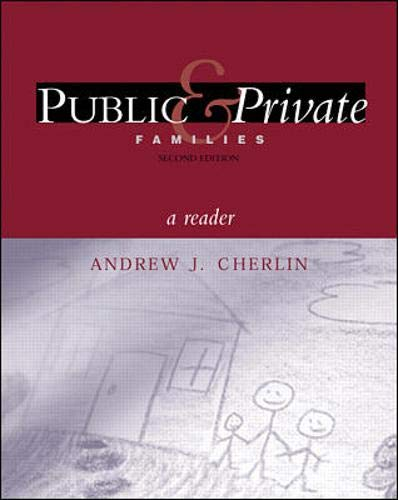 9780072319927: Public and Private Families:  A Reader