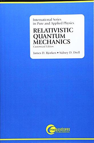 9780072320022: Relativistic Quantum Mechanics