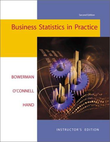 9780072320589: Business Statistics in Practice