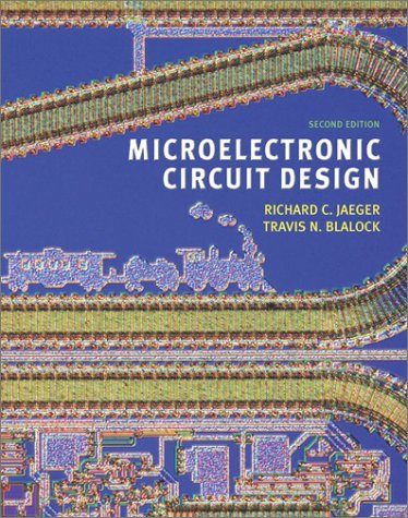 9780072320992: Microelectronic Circuit Design (Mcgraw-Hill Series in Electrical and Computer Engineering. Electronics and Vlsi Circuits.)