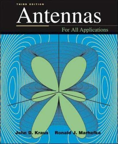 9780072321036: Antennas (McGraw-Hill Series in Electrical Engineering)