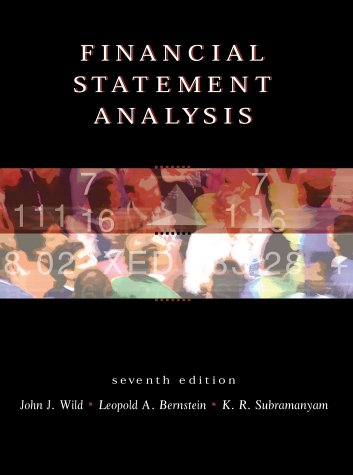 9780072321135: Financial Statement Analysis