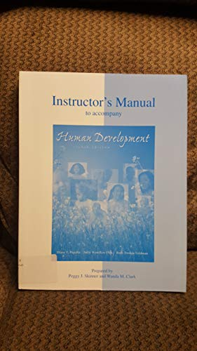 9780072321401: Instructor's Manual to Accompany Human Development