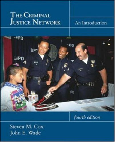9780072321487: The Criminal Justice Network: An Introduction