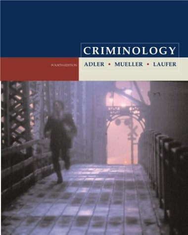 9780072321494: Criminology and the Criminal Justice System