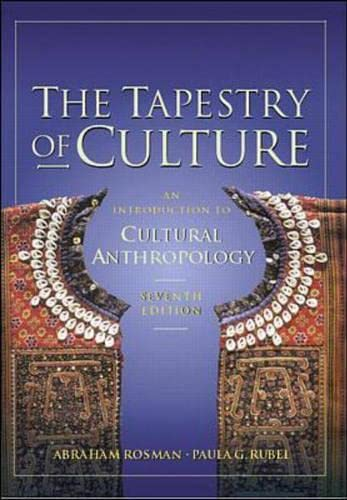 9780072321548: The Tapestry of Culture