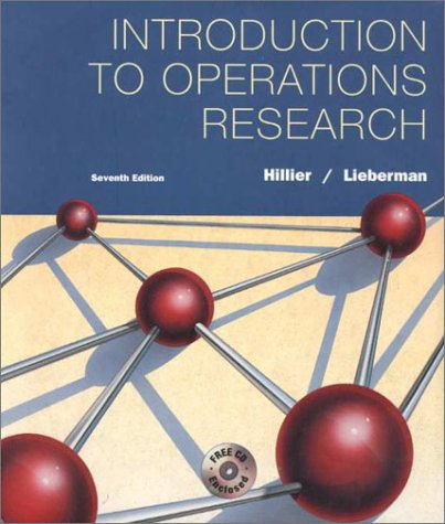 Introduction To Operations Research 7ed: Frederick S Hillier