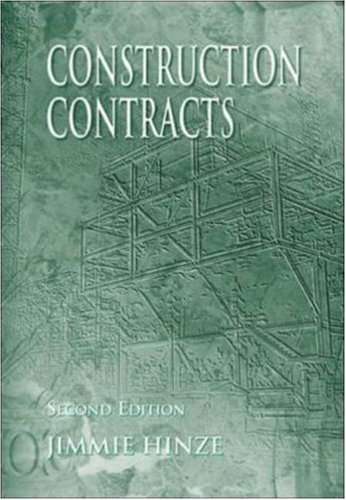 9780072321722: Construction Contracts (McGraw-Hill Series in Construction Engineering and Project M)
