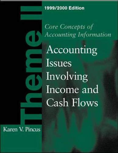 9780072321944: Core Concepts of Accounting Information Theme 2, 1999-2000 Edition