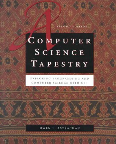 9780072322033: A Computer Science Tapestry