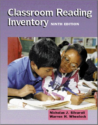 9780072322408: Classroom Reading Inventory