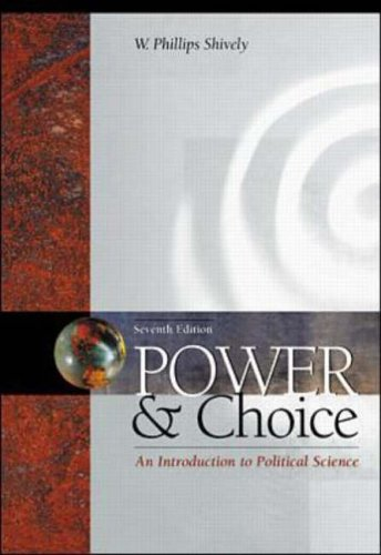 9780072322521: Power and Choice