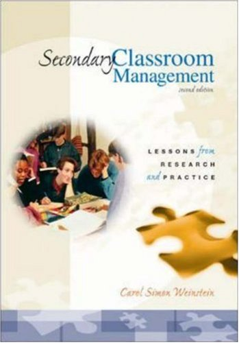 9780072322705: Secondary Classroom Management: Lessons from Research and Practice