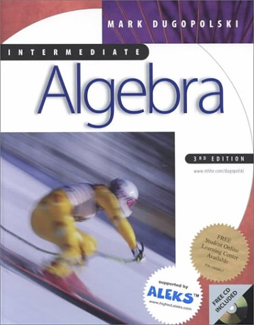 9780072323993: Algebra for College Students