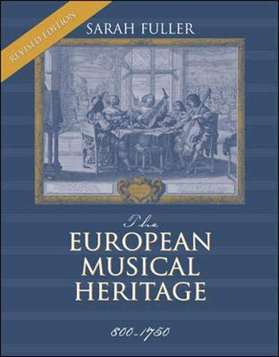 9780072324525: European Musical Heritage