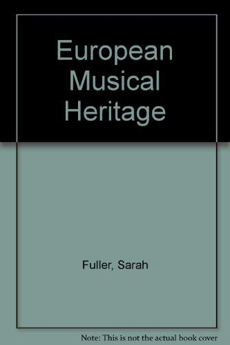 9780072324532: Audio CD set for use with European Musical Heritage