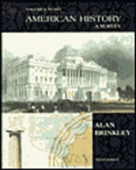9780072324709: American History: A Survey Volume 1 with Maps - Not Available Individually - Use396415: 1