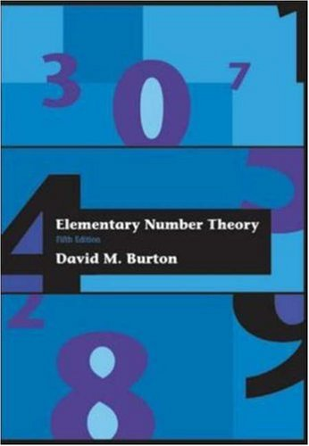 9780072325690: Elementary Number Theory (International Series in Pure & Applied Mathematics)