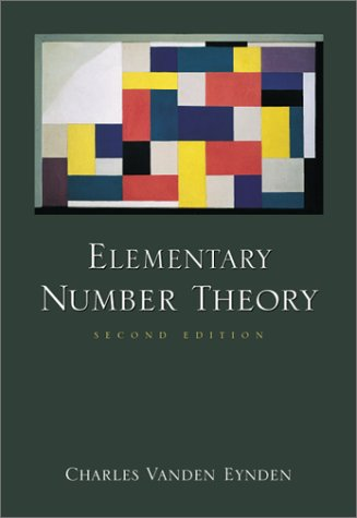 9780072325713: Elementary Number Theory (Birkhauser Mathematics Series)