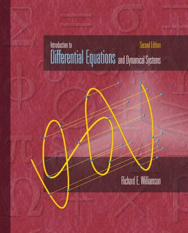 9780072325737: Introduction to Differential Equations and Dynamical Systems